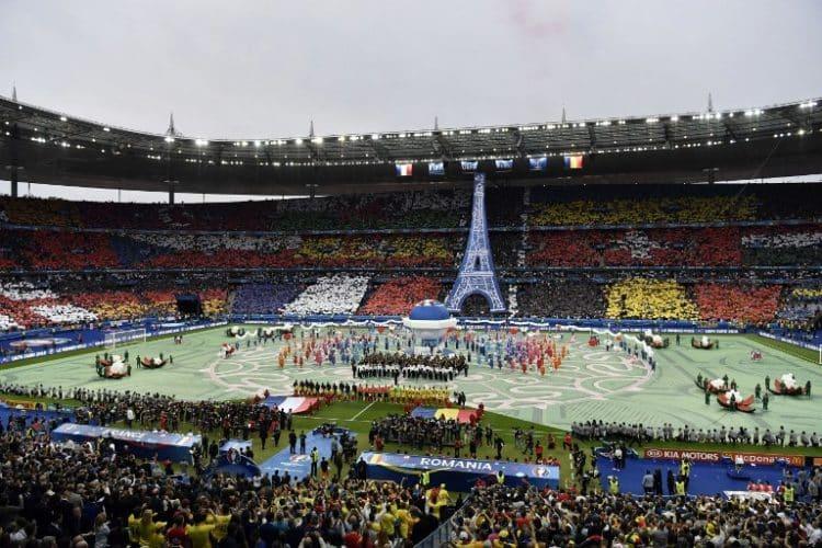 Stade de France, in Saint-Denis, am 10.Juni 2016. / AFP PHOTO / PHILIPPE LOPEZ