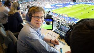 Béla Réthy darf heute das Spiel zwischen Spanien und Marokko kommentieren. / Foto: ZDF-Jean-Francois Deroubaix