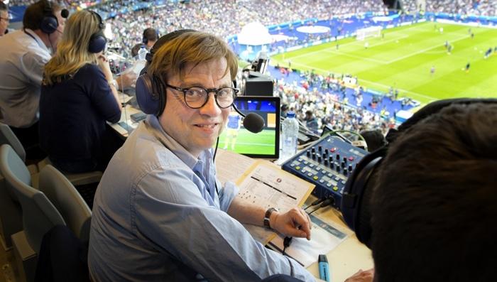 Confed-Cup 2017 live: Béla Réthy kommentiert das Spiel zwischen Deutschland und Kamerun. / Foto: ZDF-Jean-Francois Deroubaix