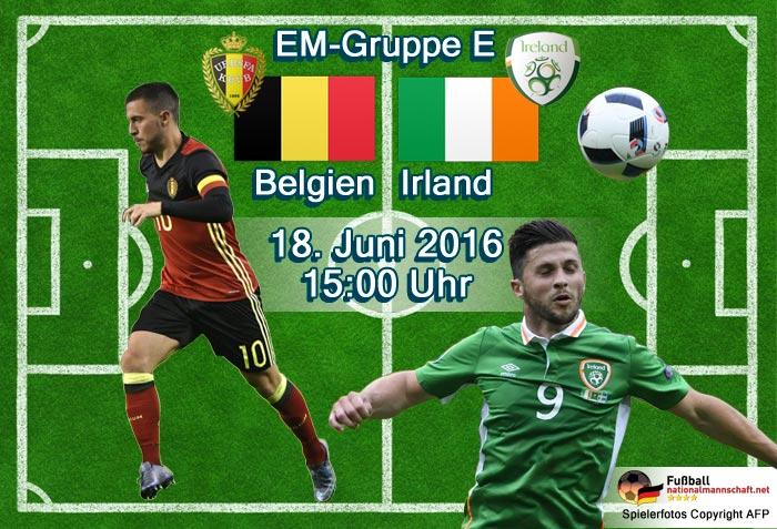 belgien-irland