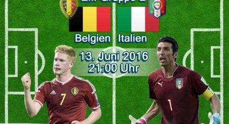 EM-Trikots 2016 vorgestellt: Belgien & Italien Trikots