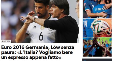 Deutschland Italien Nach Dem Spiel