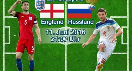 EM-Trikots 2016 vorgestellt ** England & Russland Trikots