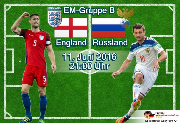 Livestream England Russland