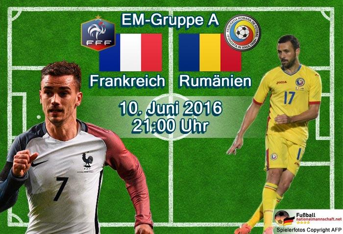 EM Eröffnungsspiel - Fußball EM 2016