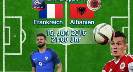 EM-Trikots 2016 vorgestellt: Frankreich & Albanien Trikots & Aufstellungen heute