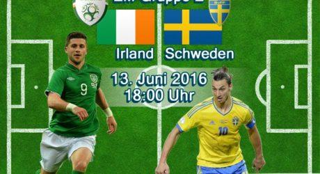 EM-Trikots 2016 vorgestellt ** Irland & Schweden Trikots