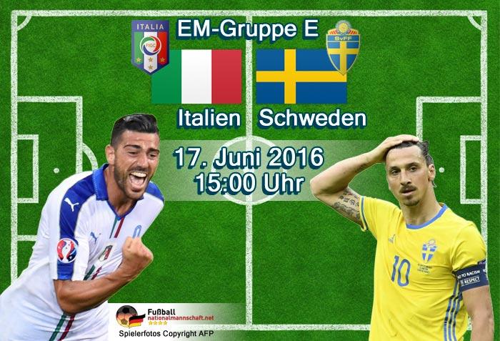 italien schweden em