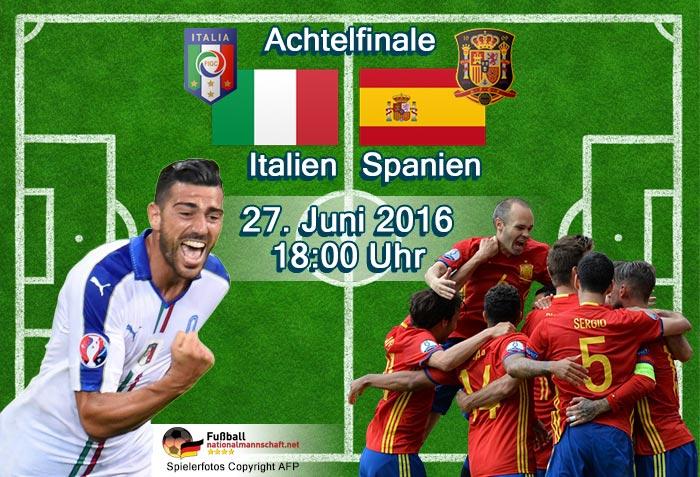 italien gegen spanien heute