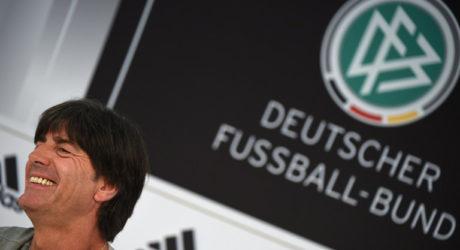 DFB-Pressekonferenz heute: Bundestrainer Jogi Löw spricht über die Nachnominierung von Tah