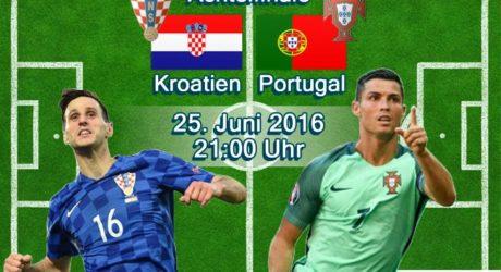 Fußball heute Liveticker * Verlängerung * 0:1 * Achtelfinale ab 21 Uhr ** Kroatien gegen Portugal – Aufstellungen heute * ZDF Live