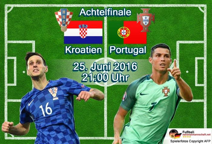 Fußball heute Achtelfinale ab 21 Uhr - Kroatien gegen Portugal - Aufstellungen heute * ZDF Live