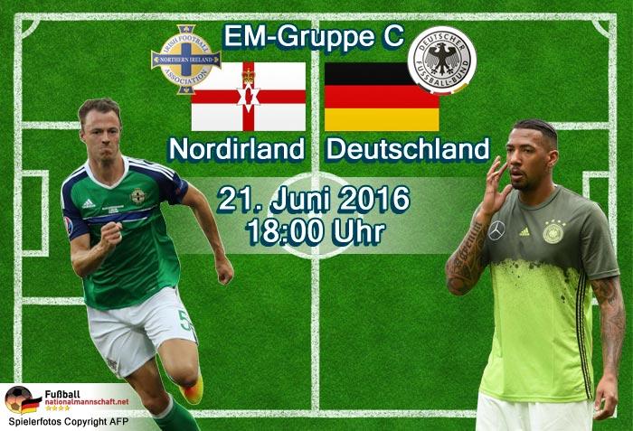Ergebnis Deutschland Nordirland