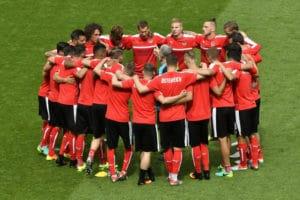 Die österreichische Mannschaft bei der EM 2016