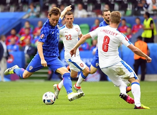 Rakitic, der Schütze zum 2:0 für Kroatien gegen die Tschechen