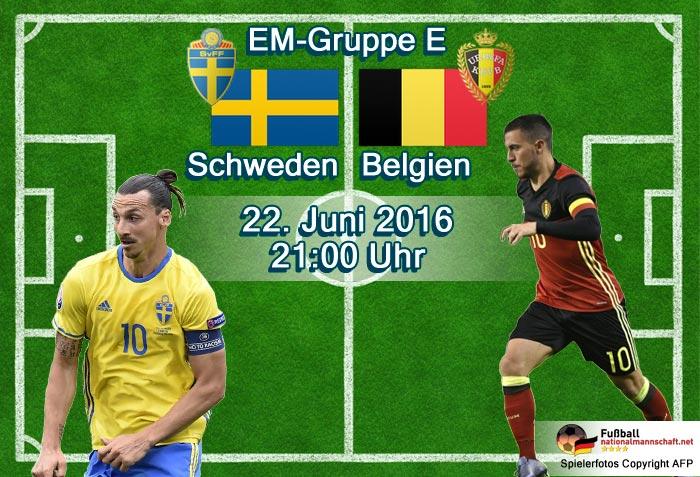 schweden-belgien