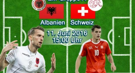 EM-Trikots 2016 vorgestellt ** Schweiz & Albanien Trikots