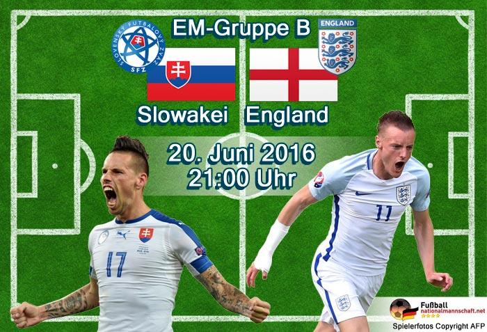 slowakei-england