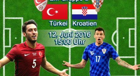 EM-Trikots 2016 vorgestellt ** Türkei & Kroatien nike Trikots