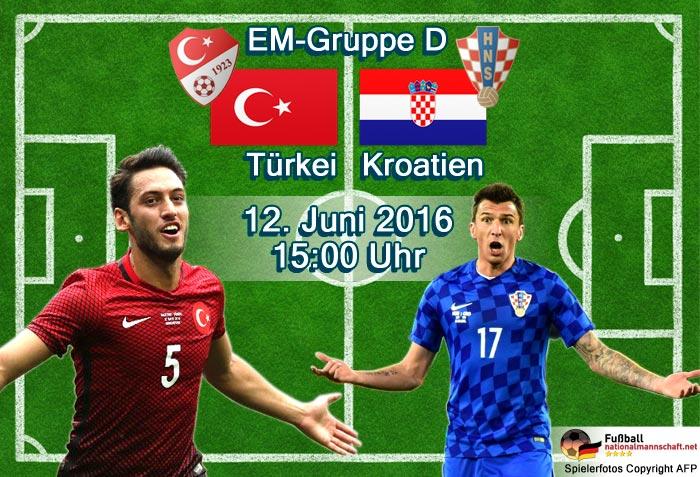 türkei kroatien zdf