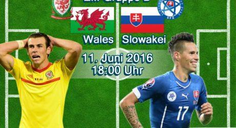 EM-Trikots 2016 vorgestellt ** Wales & Slowakei Trikots & Aufstellungen