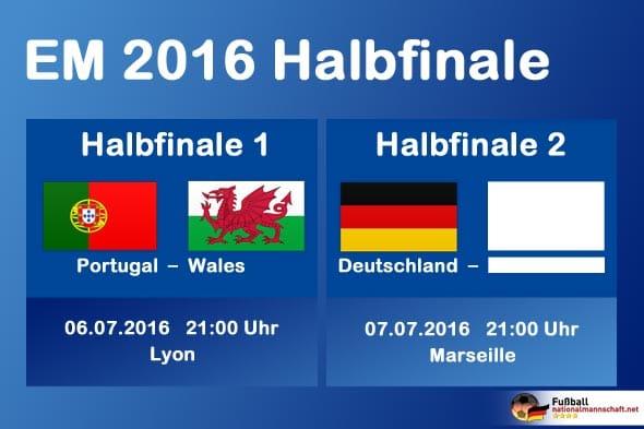 em halbfinale live
