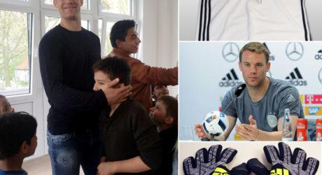 Trikot Auktion: Manuel Neuer versteigert seine EM 2016 Ausrüstung