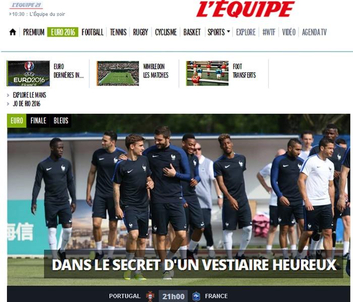 Pressestimmen zum EM-Finale Portugal-Frankreich