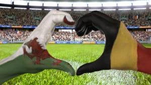 Das ZDF überträgt das EM-Viertelfinale Wales - Belgien heute live