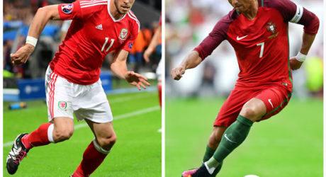 EM Trikots im EM-Halbfinale ** Ronaldo Portugal oder Bale Wales Trikots ? Das Gewinner Shirt