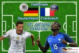 EM-Halbfinale Deutschland-Frankreich