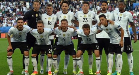 Deutsche Nationalmannschaft * Alle Rückennummern & Spielernummern auf dem Deutschland Trikot 2016