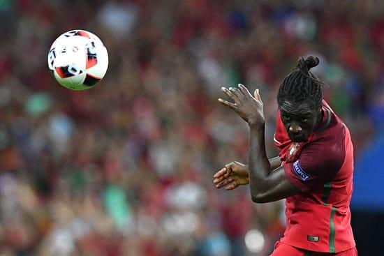 Portugal's Stürmer Eder kurz vor dem 1:0 für Portugal im EM-Finale. FRANCK FIFE / AFP