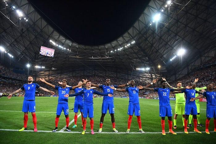 Frankreich im EM-Finale! AFP PHOTO / FRANCK FIFE