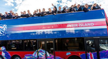 Island ist Fußball-Europameister der Herzen * Ankunft in Reykjavik