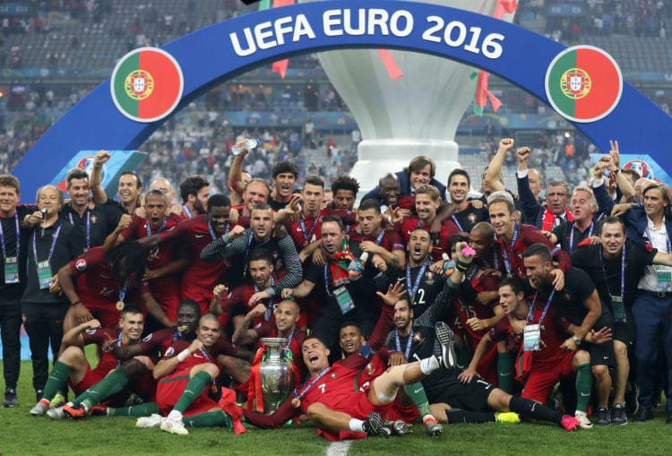Der amtierende Europameister Portugal - wie wird das Team um Christiano Ronaldo bei der Fußball EM 2020 spielen? (Foto AFP)