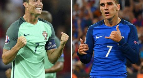 Wettquoten Portugal – Frankreich ** Wetten Tipp heute Abend: Wer gewinnt das EM Finale Portugal gegen Frankreich?