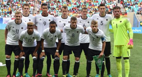 Fußball heute: Die deutsche Fußball Nationalmannschaften bei Olympia im Halbfinale