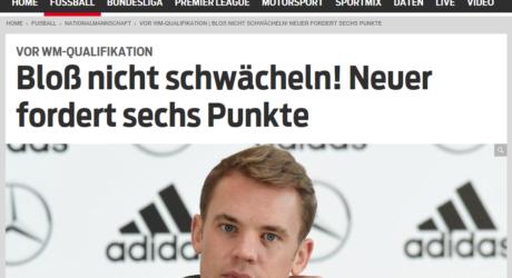 Fußball heute: Presseschau Deutschland gegen Tschechien