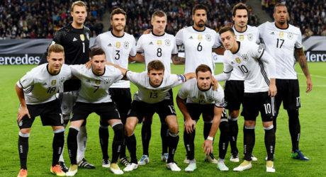 Neue FIFA-Weltrangliste im Oktober 2016 ** Deutschland auf Platz 2