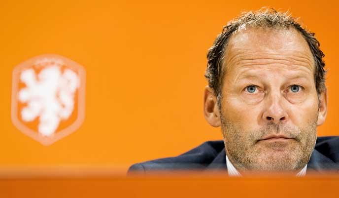 Entlassung am 26.03.2017: Der niederländische Nationaltrainer Danny Blind wird nach der 0:2 Schlappe gegen Bulgarien vom KNVB entlassen. Der bisherige Co-Trainer Fred Grim wird das Team übernehmen./ AFP PHOTO / ANP / Koen van Weel /