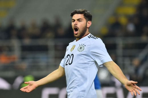 Kevin Volland fast mit dem 1:0 ! GIUSEPPE CACACE / AFP