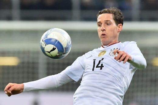 Sebastian Rudy am 15.November 2016 im San Siro Stadium in Mailand. GIUSEPPE CACACE / AFP