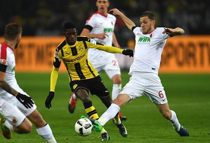 FC Augsburg gegen BVB am 20.Dezember 2016. PATRIK STOLLARZ / AFP