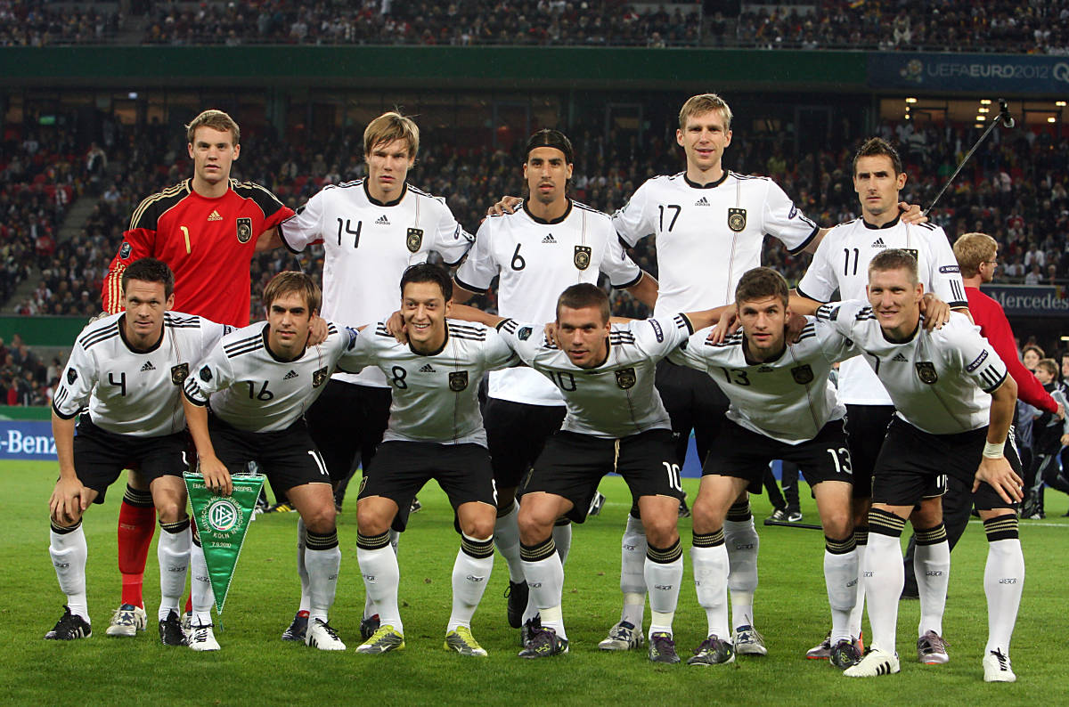 Aufstellung Deutschland Aserbaidschan