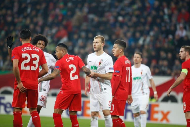 Der FC Augsburg in der Europa League gegen den FC Liverpool! (Quelle: Sport-in-augsburg.de)