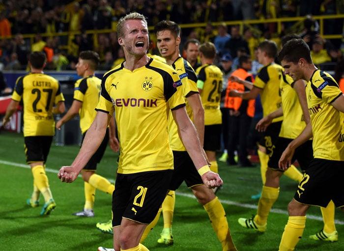 Dortmund's André Schuerrle - zuletzt Torgarant - auch gegen den RB Leipzig? / AFP PHOTO / PATRIK STOLLARZ