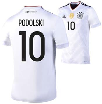 Deutschland Trikot von Lukas Podolski