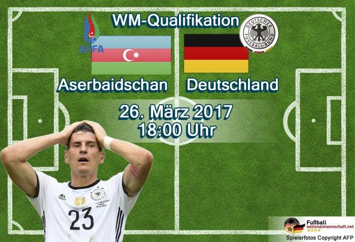 WM Qualifikationsspiel 2017 gegen Aserbaidschan (Foto AFP von Gomez)