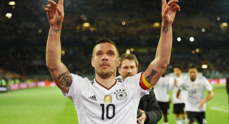 Nachbericht Deutschland – England 1:0 Abschiedsspiel Lukas Podolski